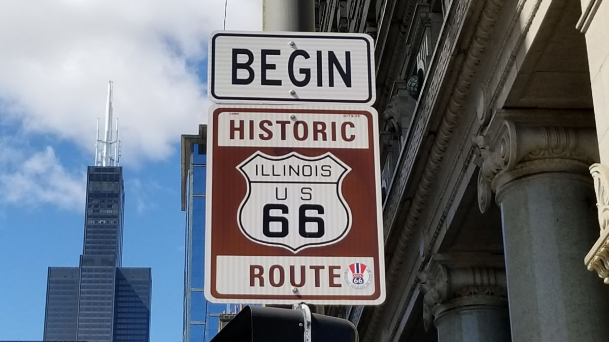 Image result for route 66 chicago