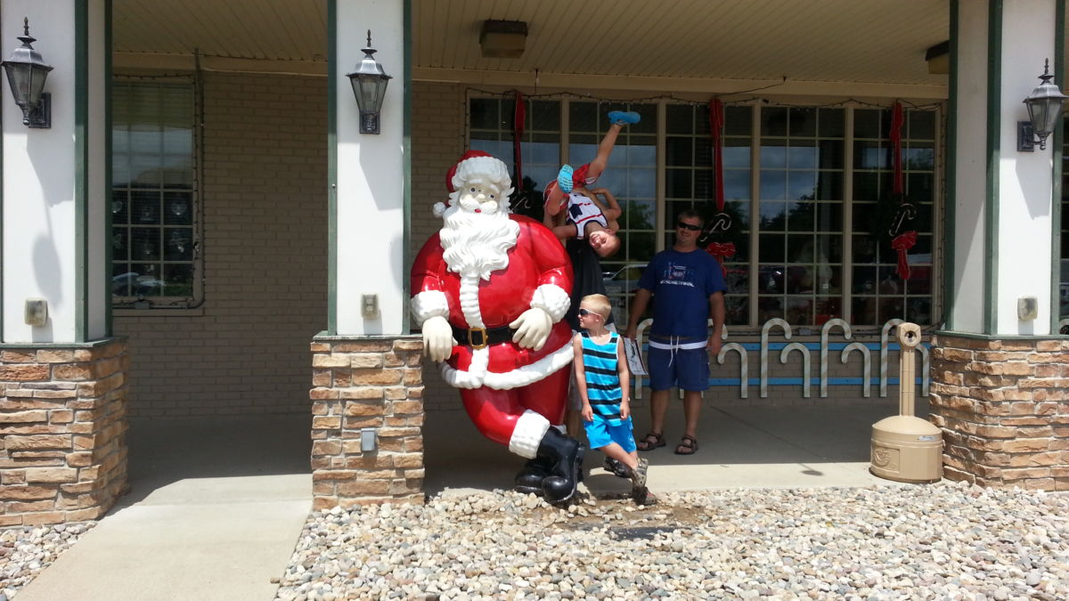 Best Place To Celebrate Christmas In July Santa Claus