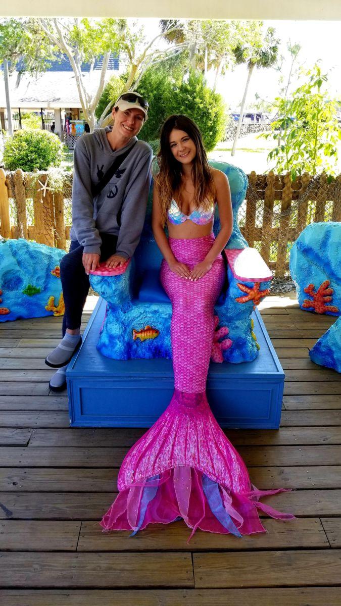 Jeffrey Kosh's Blog - MEET A REAL MERMAID: KATRIN FELTON ... |Meet Weeki Wachee Mermaids