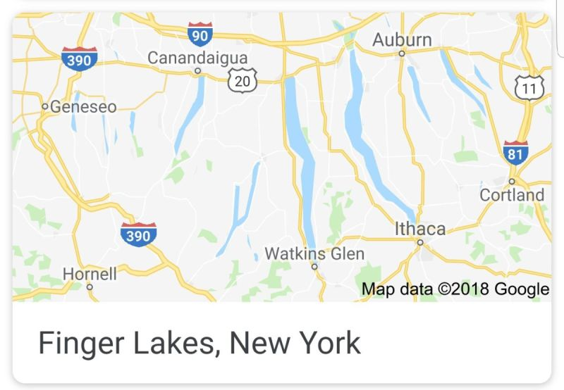 Map Of New York Finger Lakes Region.3 Fascinating Days In The Finger Lakes Wonderful Things To Do