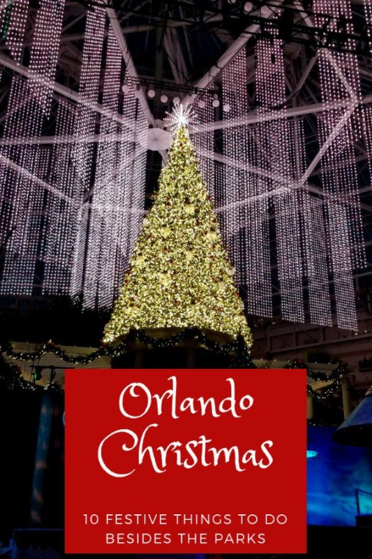 Things To Do Near Orlando On Christmas Day 2020 The Most Festive Things to Do in Orlando during the Holidays