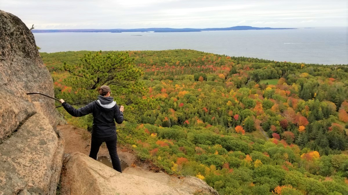 Beehive Trail, a Must-Do Hike in Acadia National Park Especially in the Fall