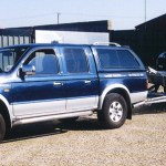 Ford Ranger used by DanHire