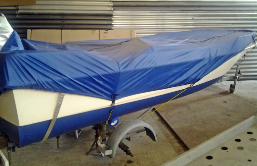 Boat-Trailer-being-serviced-at-DanHIRE-Trailers