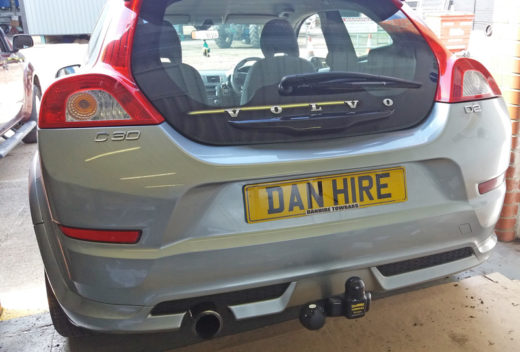 VOLVO C30 7 pin electrics Towbar