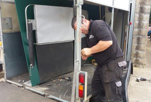 trailer rebuild