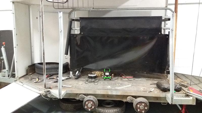 horse trailer rebuilt danhire trailers bungay suffolk mike