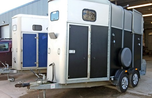 HORSE TRAILERS VALET