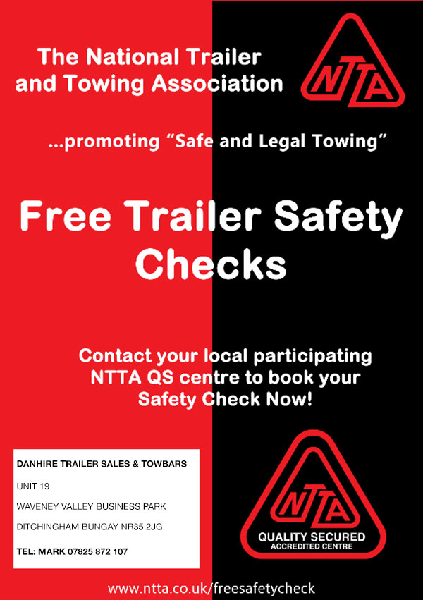 NTTA Free Trailer Safety Checks at DanHIRE