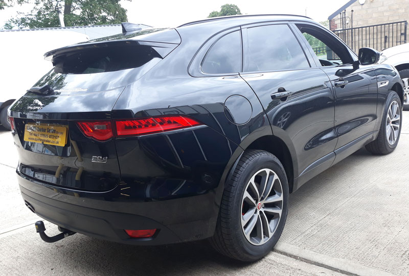 Jaguar F Pace fitted with Detachable Towbar