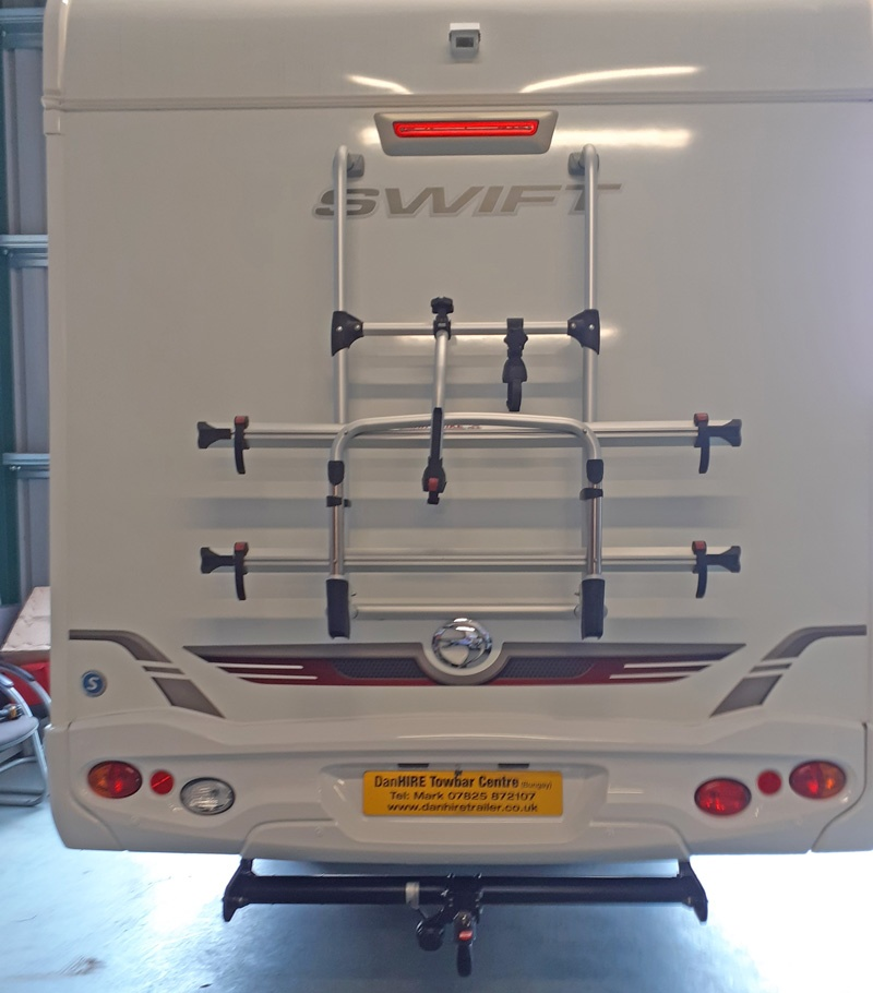 Motorhome Towbar fitted Witter Towbar complete with Dedicated Specific Wiring  installed to Motorhome so customer was able to getaway on their holiday.