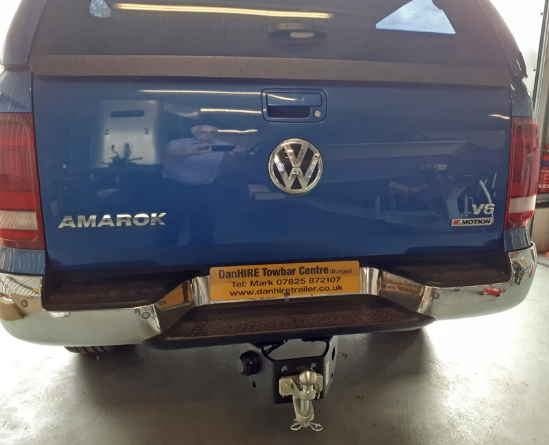 New Towbar fitted to a Volkswagon Amarok V8