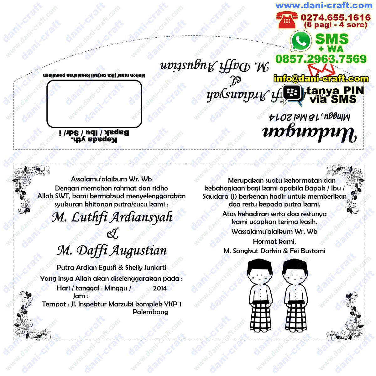 Contoh Undangan Syukuran Khitanan Doc ~ Harga Undangan Tas ...
