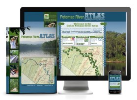 2013. The Hagerstown-Washington County Convention and Visitors Bureau & the Washington County GIS office approached the team at Icon Graphics to take Bonn A. Poland IV's fantastic comprehensive GIS maps of the Potomac River and create both a print and an online atlas. My coworker took care of the print Potomac River Atlas, and I designed and developed the website.