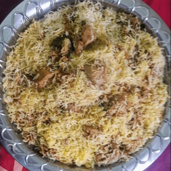 Chicken Biryani recipe using Biryani Masala (spice)