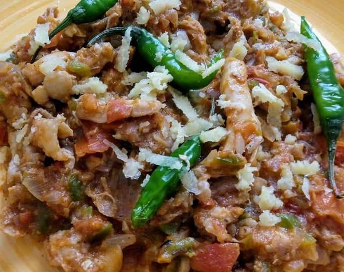 دجاج مقلقل Chicken Mugalgal Recipe in English