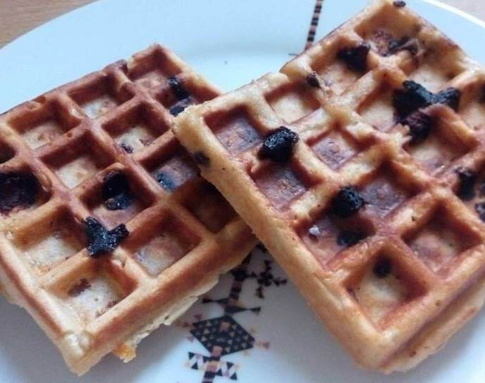 Waffles with Apples Recipe