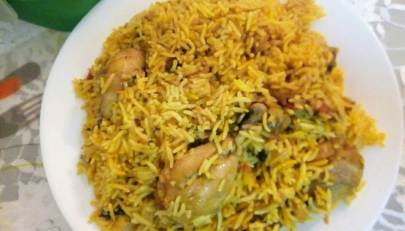 Chicken pulao recipe