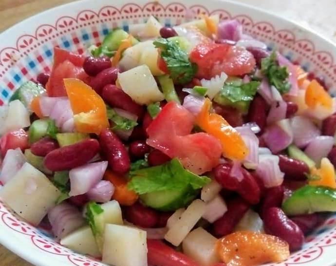 Kidney Beans Salad Recipe