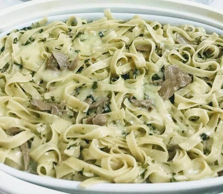 Fettuccine Alfredo Pasta recipe