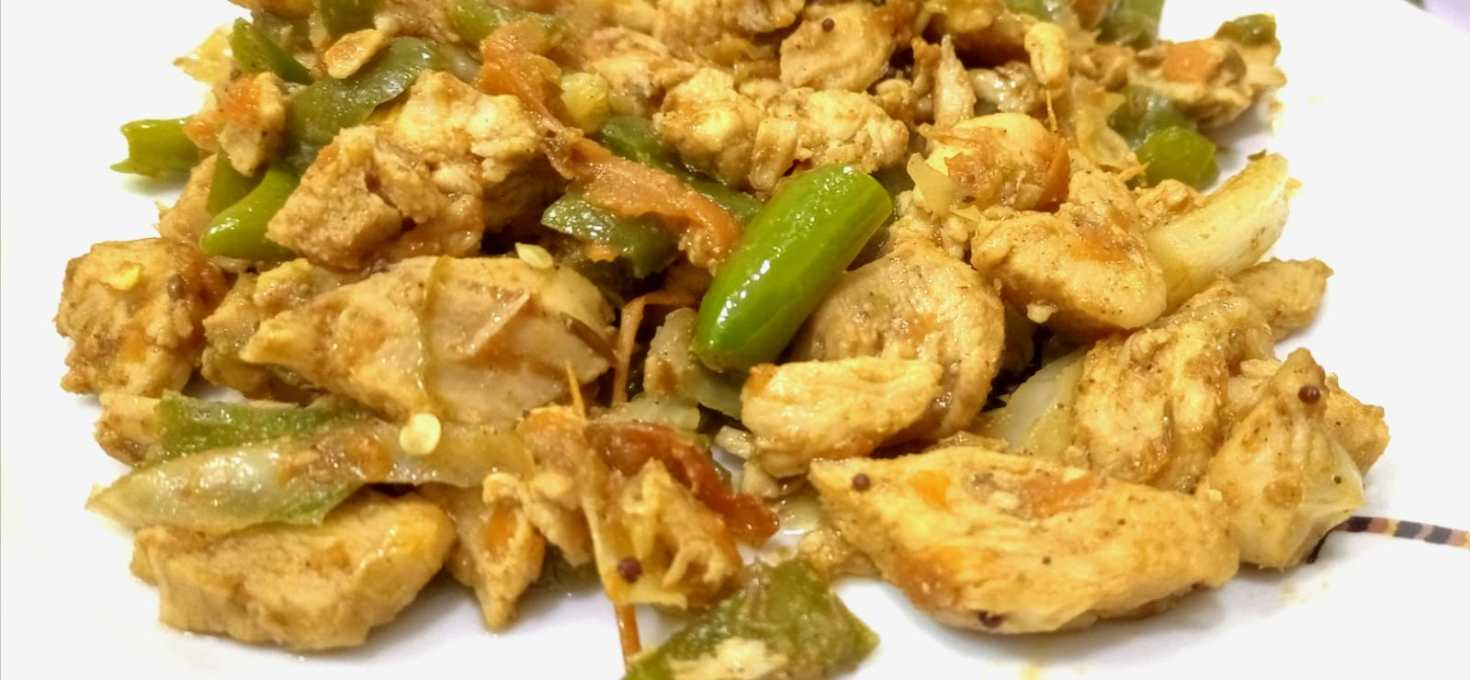 How to prepare Healthy chicken and vegetable recipe