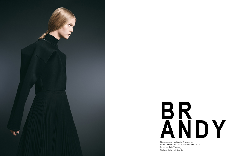 Brandy MacDonald by Daniel Gossmann for Wilhelmina Models New York H 1