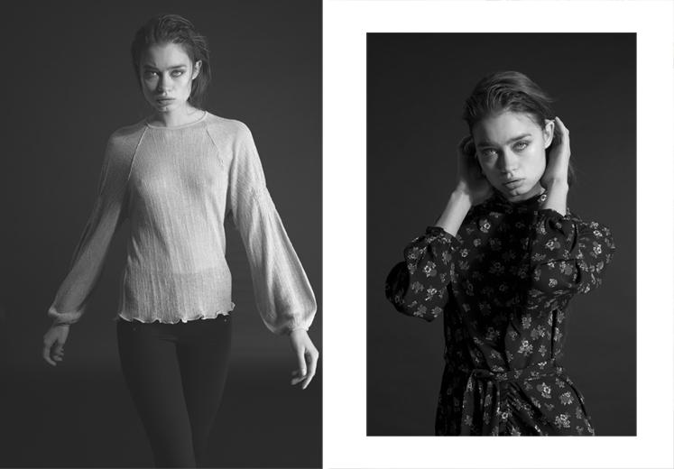 Lisa Yakovina by Daniel Gossmann for Women Management Milano 1 online