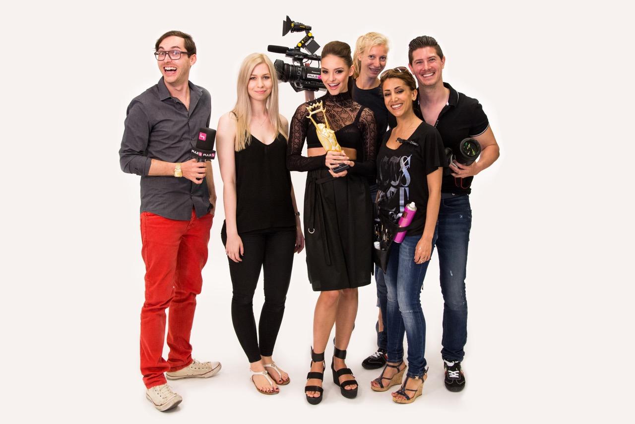 Julia Furdea Daniel Gossmann Puls4 iLIKE Miss Austria copyright Studiozone 1