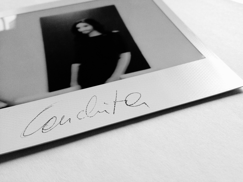 Conchita Wurst by Daniel Gossmann Polaroid Blog