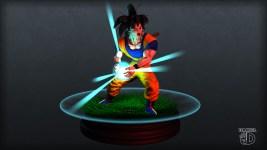 Goku, 3D modelling - Maya Zbrush Photoshop