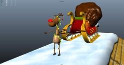 Xmas Reindeer Carton