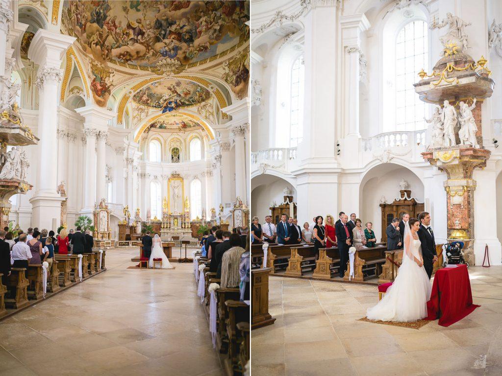 Hochzeit im Kloster Neresheim und bei der Scheunenwirtin