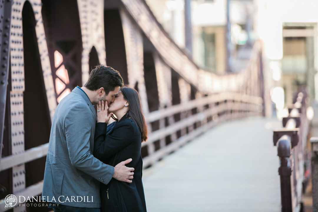 Franklin Bridge Engagement Photography Session