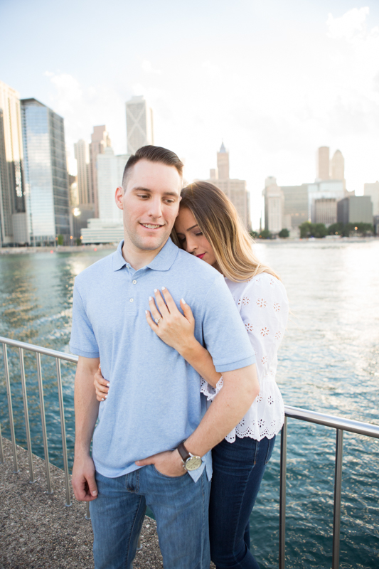 Olive Park and Lurie Garden Engagement Session
