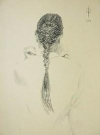 Identities (2) - pencil on paper, 36x25.5 cm, 2014
