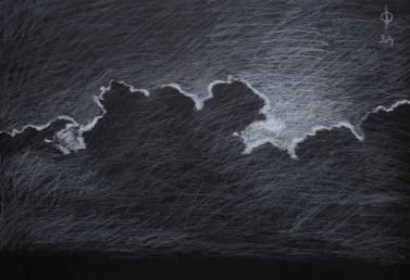 Sky 21 - pencil on paper, 35x50 cm, 2014
