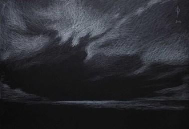 Sky 22 - pencil on paper, 35x50 cm, 2014
