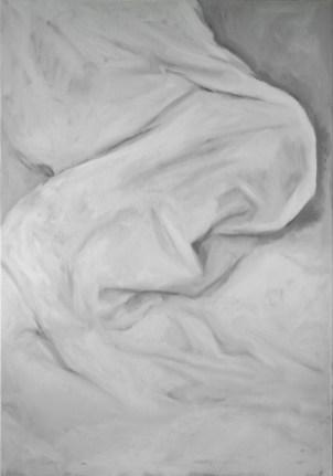 White Shades XXIII - oil on linen, 100x70cm, 2018