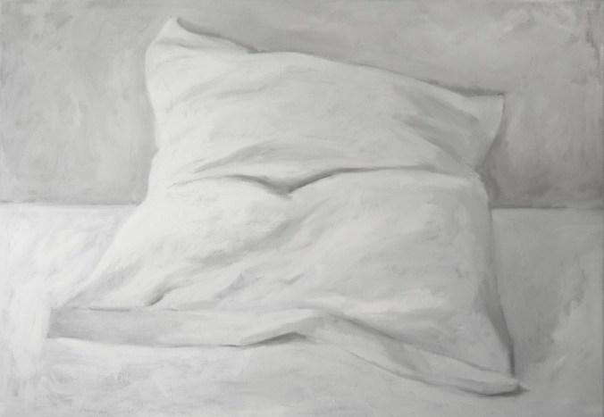 White Shades XXX - oil on linen, 70x100cm, 2018