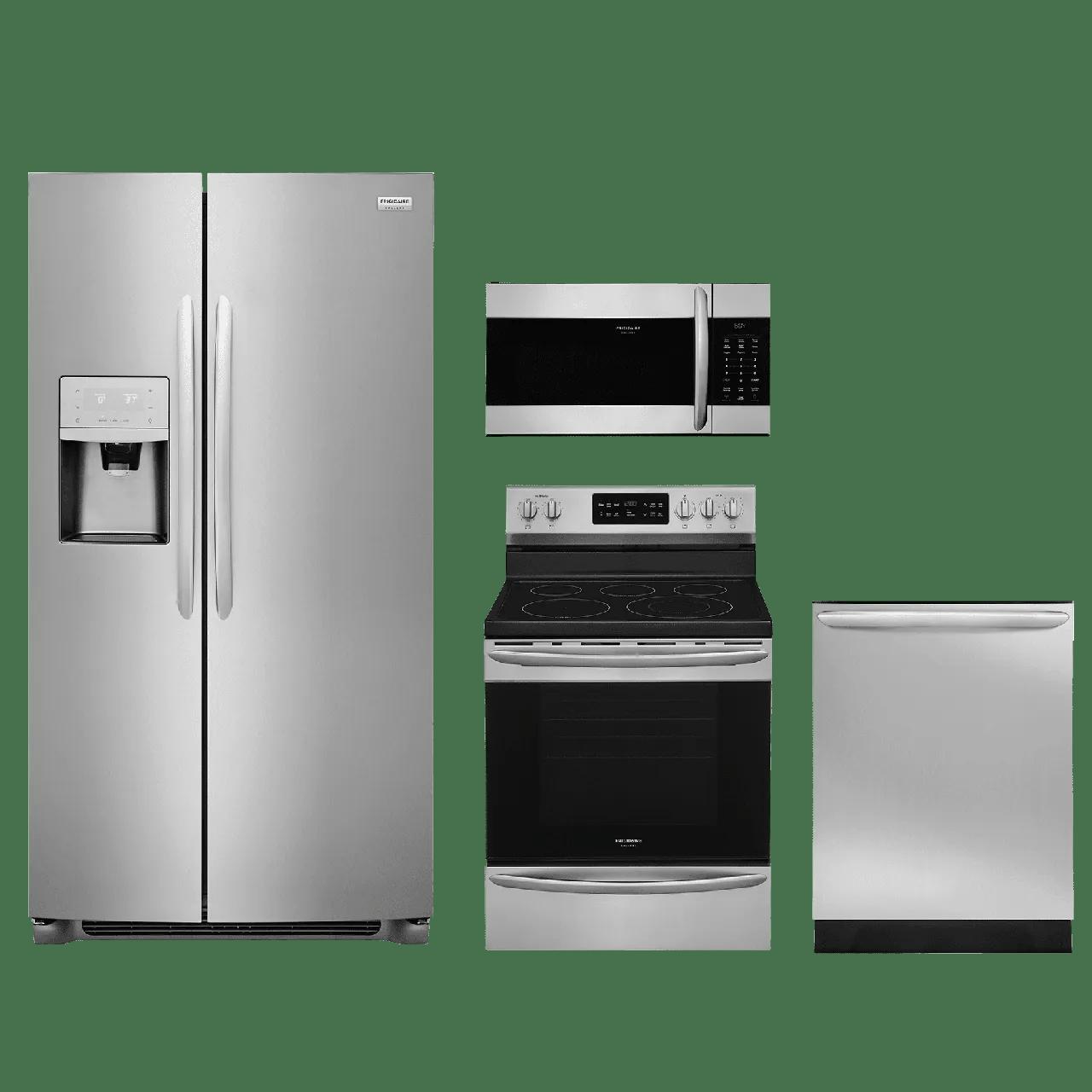 frigidaire kitchen appliances black slate floor tiles gallery appliance packages besto blog