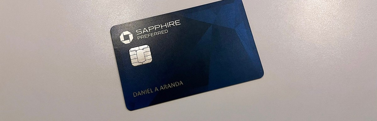 Chase Sapphire Preferred: My New Favorite Credit Card