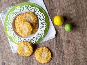 Möhren-Cheesecake-Cookies