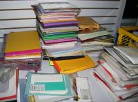 Lots of Card Stock and Scrap booking paper