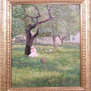 Painter, artist, Burlingame