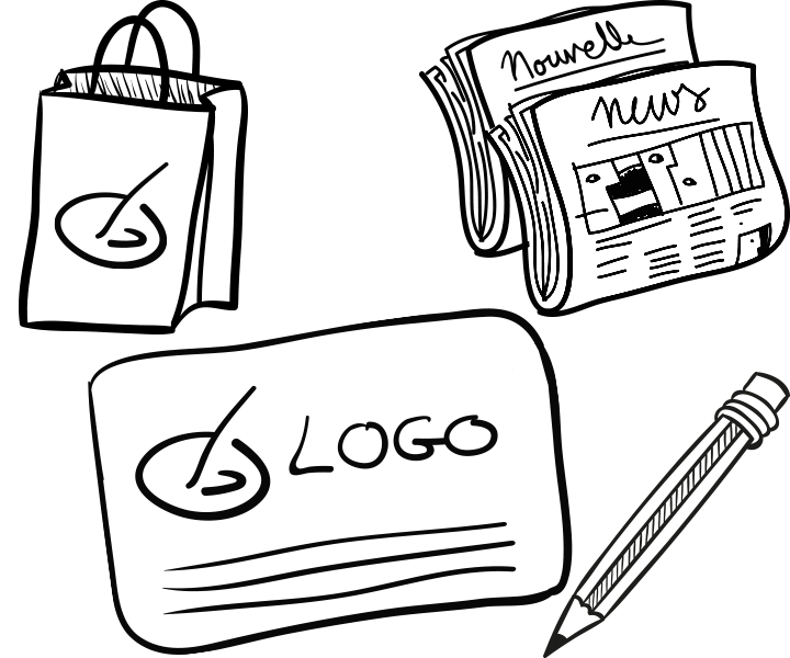 Freelance graphic designer Montreal, Laval, Website, logos