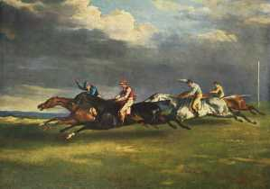 Famous-artists-Gericault-Derby-Epsom