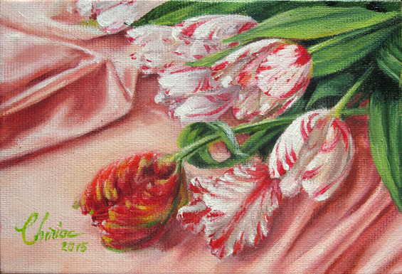 Spring is here – Oil painting