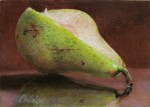 Artcards still life oil paintings of fruit cheries and pear