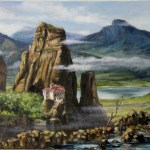 Meteora-oil-painting-landscape