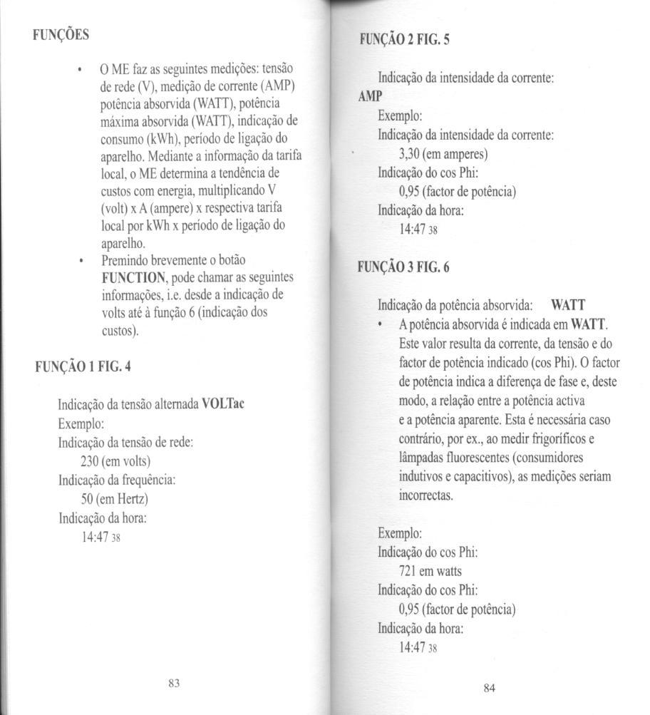 Manual de un medidor de energía
